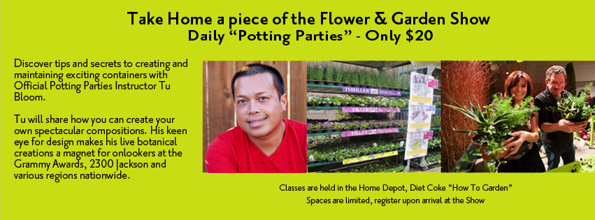 blooms potting party