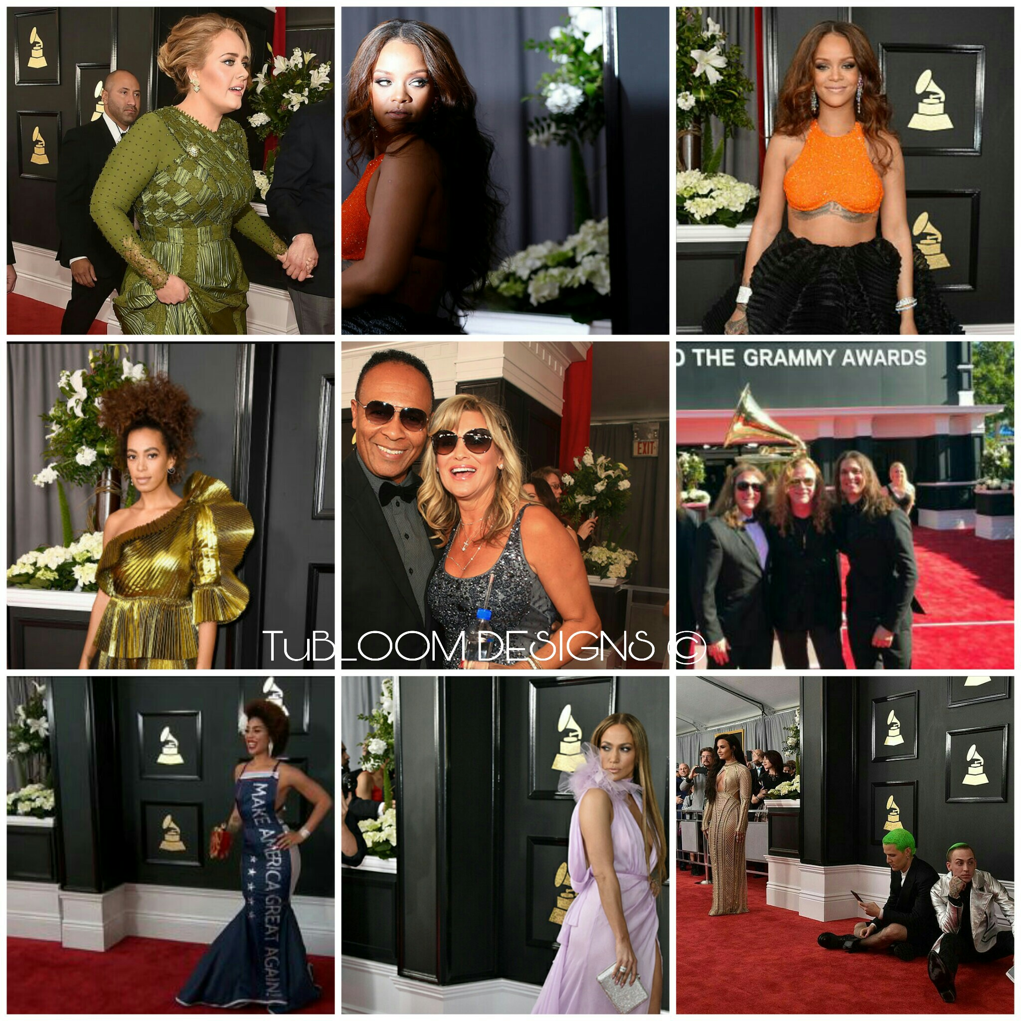 grammys red carpet