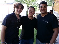 Prince Jackson, Tu Bloom, and T.J. Jackson