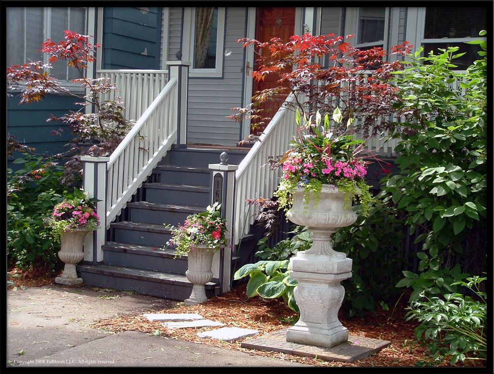 Tu bloom garden landscape design services residential for Elegant landscaping